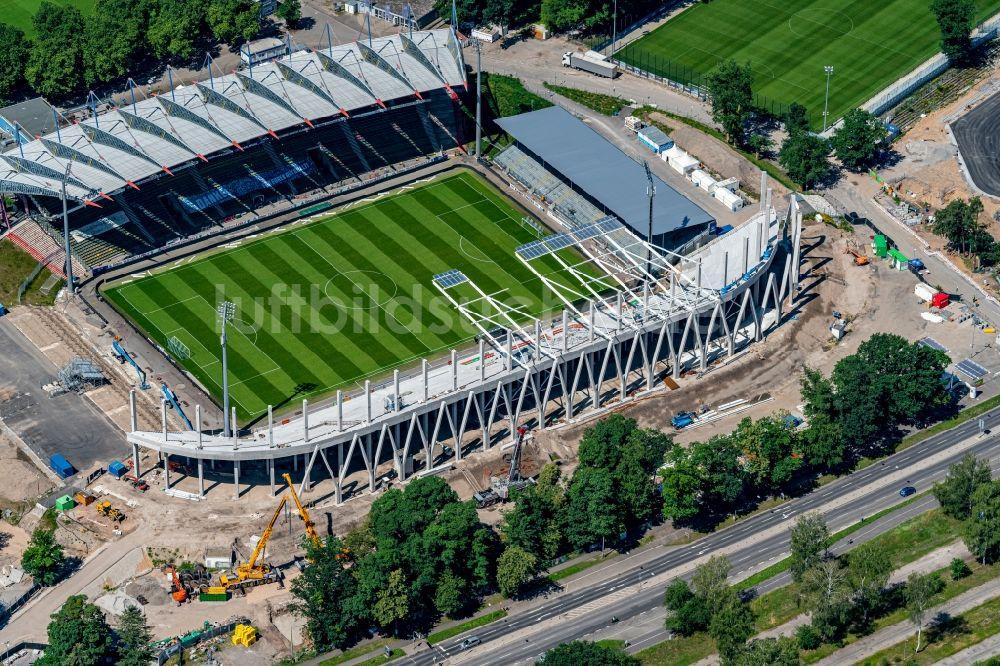 Wildparkstadion Umbau