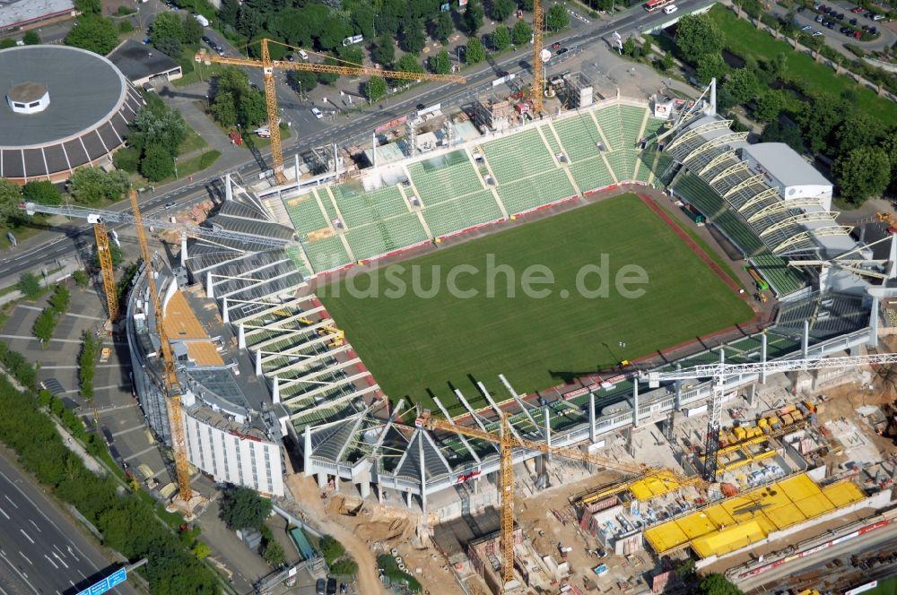 Leverkusen Stadion Anfahrt