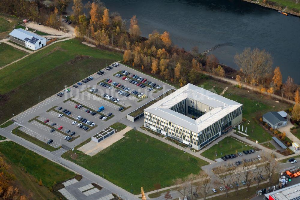 Luftaufnahme Kelheim - Verwaltungsgebäude der staatlichen ...