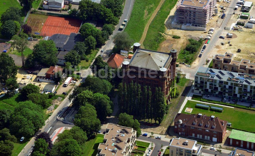 Luftaufnahme Bremen Ot Neustadt Wasserturm Auf Dem
