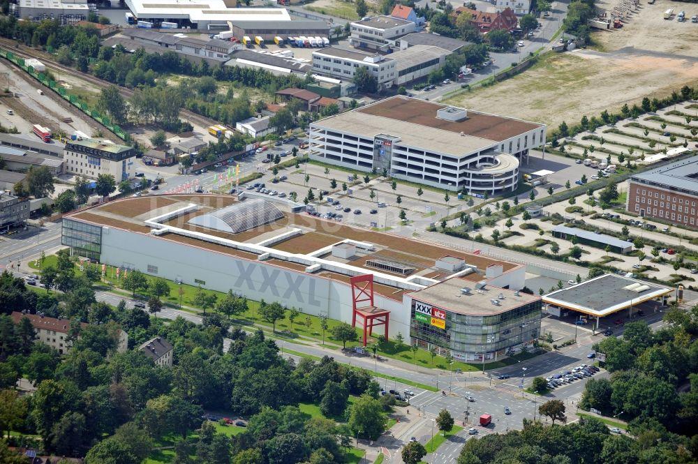Möbelhaus Nürnberg aus der vogelperspektive xxxl utz möbelhaus in nürnberg in bayern