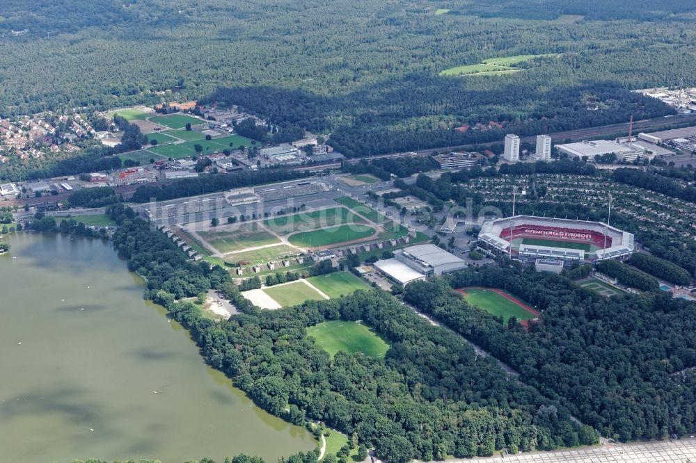 Nürnberg Stadion Parken