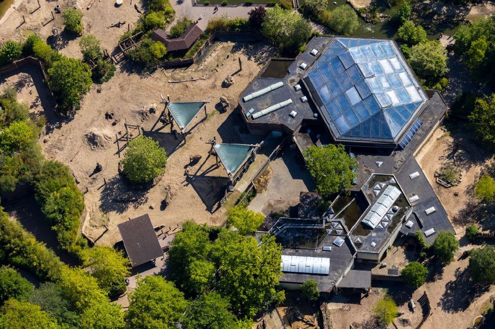 Munster Aus Der Vogelperspektive Zoogelande Am Tierpark Allwetterzoo Munster Am Aasee In Munster Im Bundesland Nordrhein