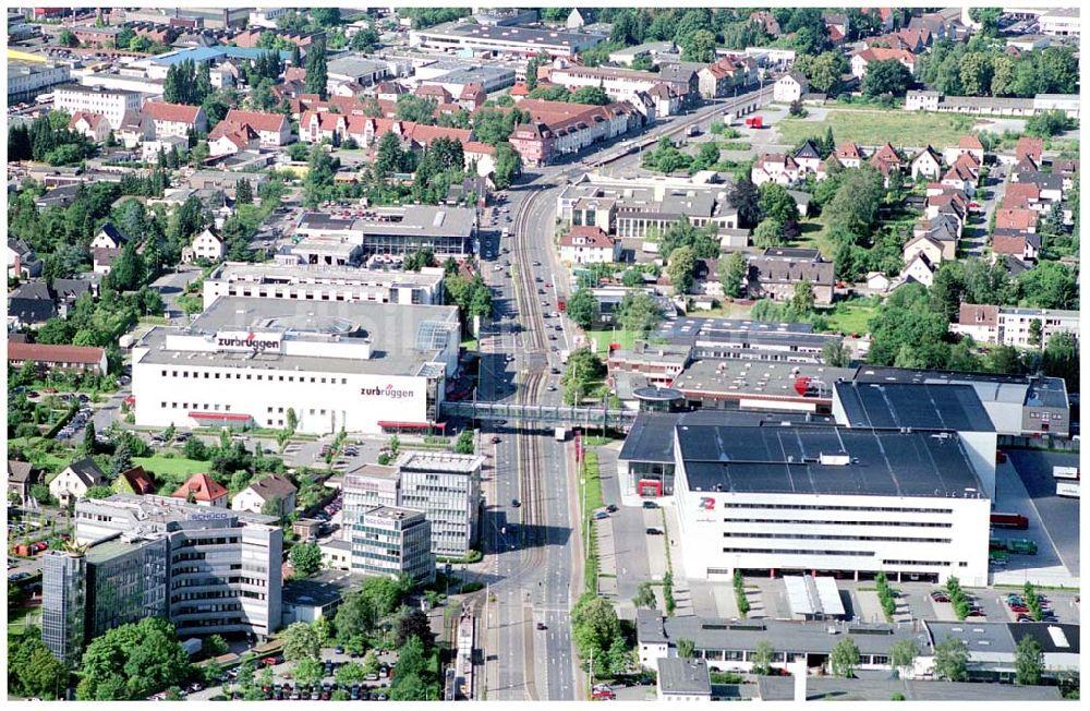 Luftaufnahme Bielefeld Zurbrügge Möbelhaus