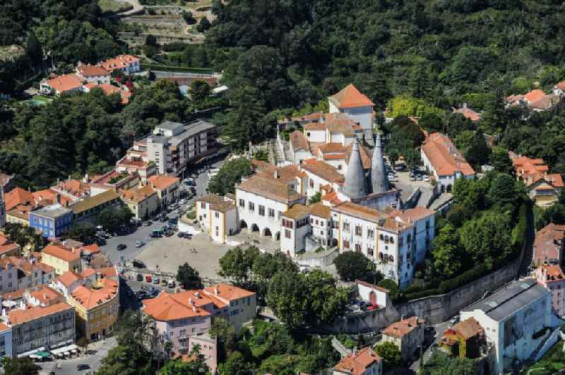 Palais des Schloss ' National Palast ' in Sintra in Lisboa, Portugal